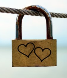 Love lock - The symbol of true love